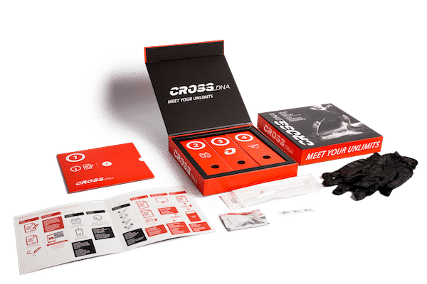 DNA test CrossDNA packaging